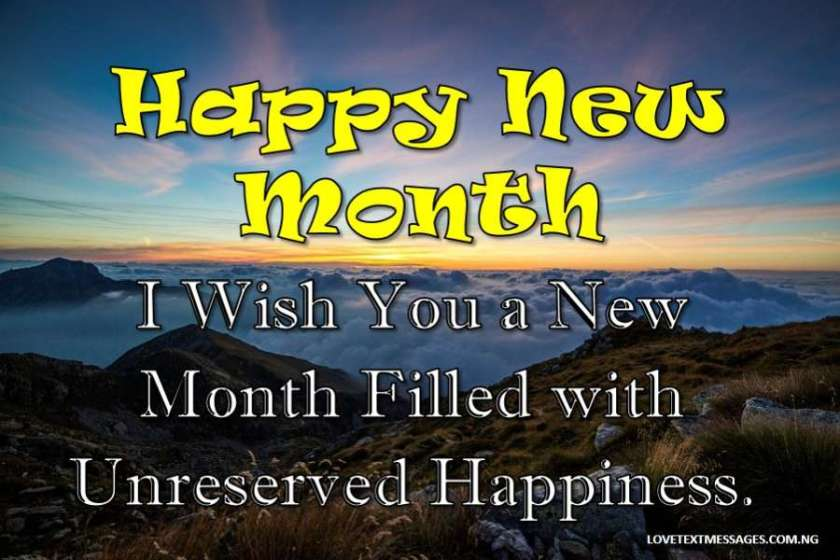 50 inspirational happy new month status love text messages new month status m4hsunfo