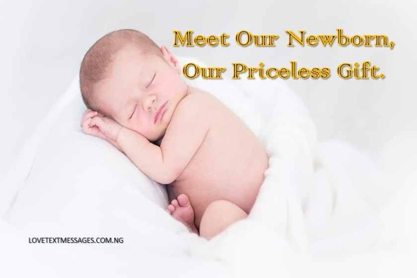 50 new born baby arrival messages from parents to friends family