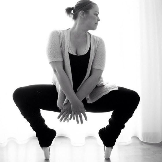 Daarna maakte ik van Nicole de mooiste balletfoto's. Het resultaat bekijk je hier.