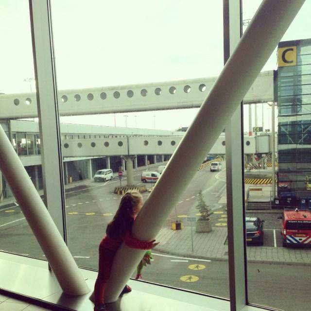 Alles ging van een leien dakje (zoals jullie al eerder hebben kunnen lezen) op Schiphol en in het vliegtuig