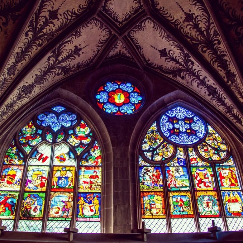 Binnenin de Münster Cathedral