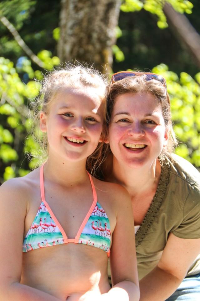 Mijn zus met Jasmijn