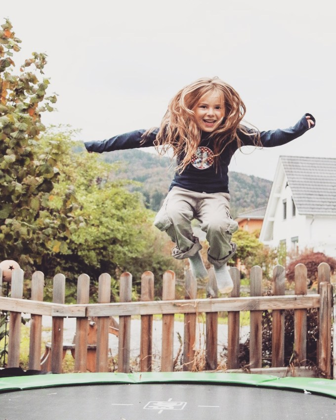 Nog eentje dan omdat ik die trampoline foto's zo cool vind!