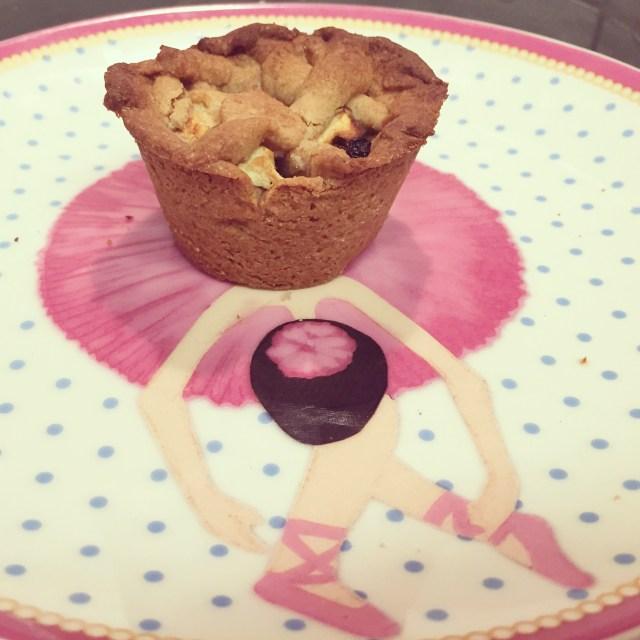 Als toetje had ik appeltaartjes gemaakt om te proberen. Gelukt!