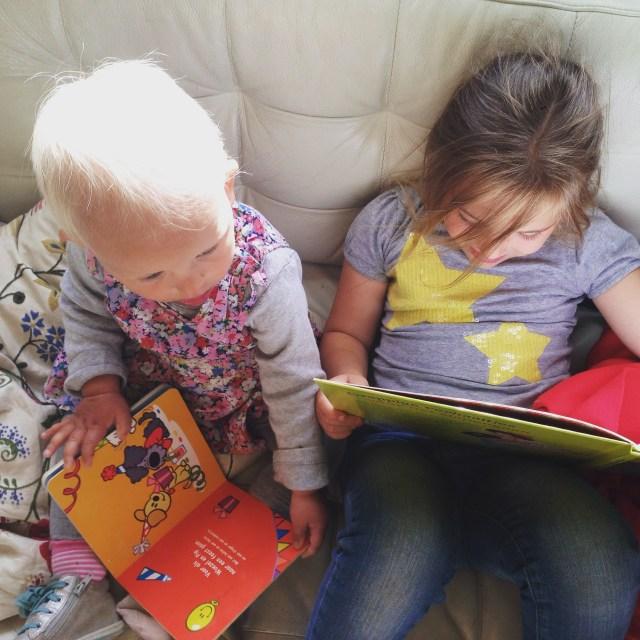 Vrijdag begon goed, ze waren rustig een boekje aan het lezen
