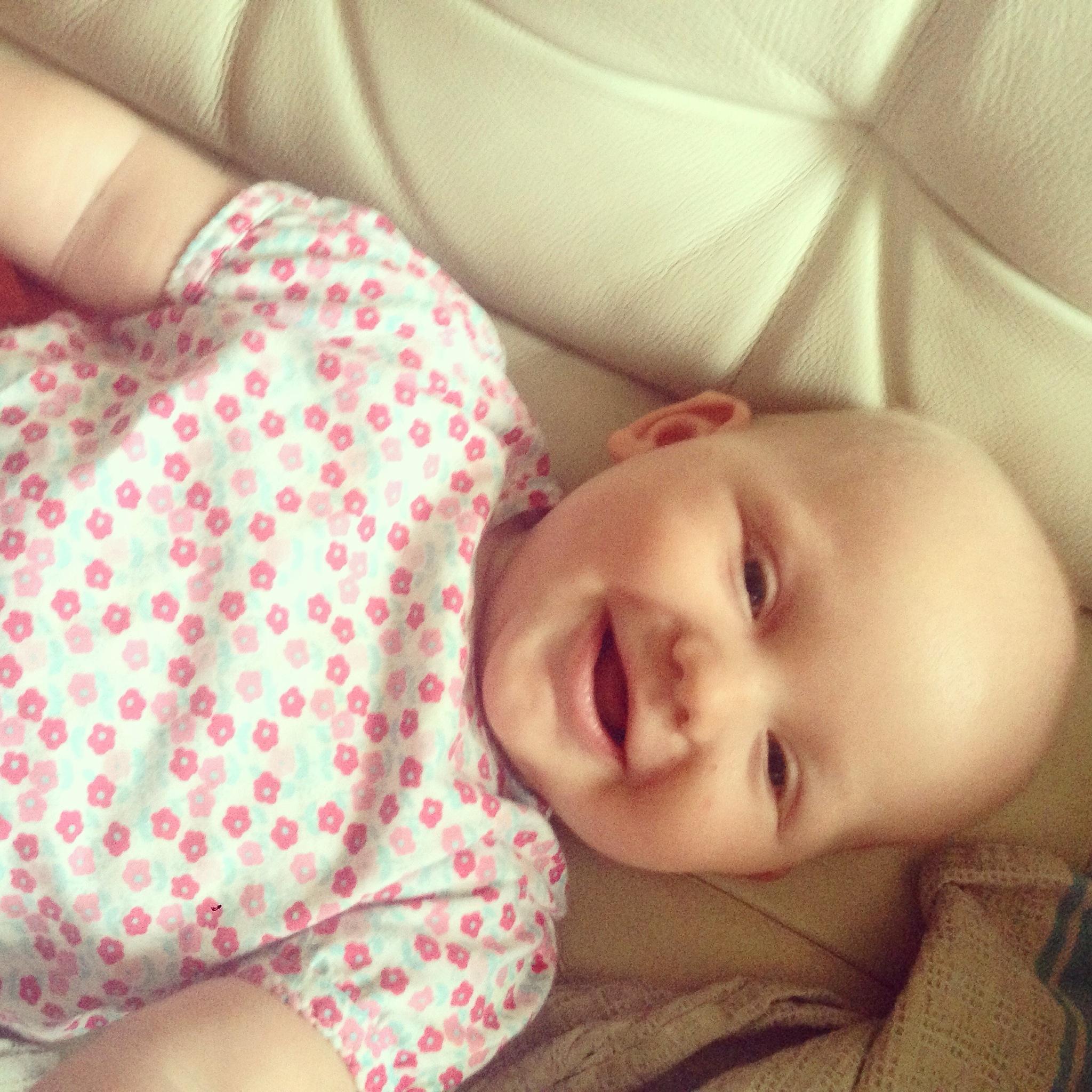 Ondanks dat ze deze week wat jongeling is, kan er gelukkig wel altijd een lach vanaf
