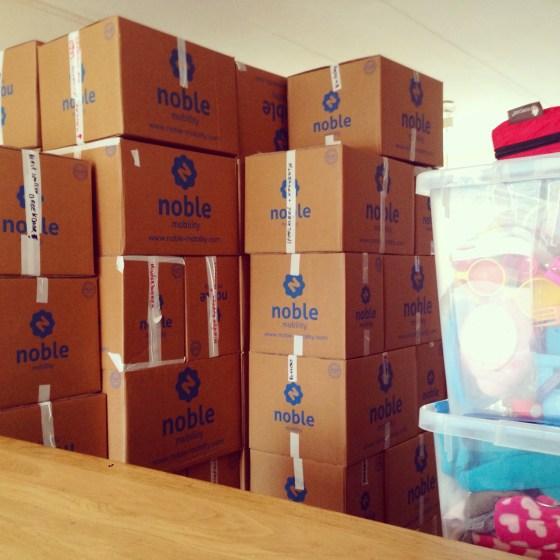 Uit de oude doos: overal dozen!