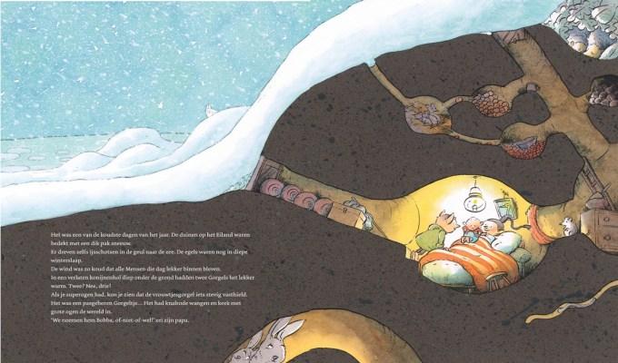 Een blik in het nieuwe boek De Wereld van de Gorgels. Ik heb hiervoor twee pagina's uit het inkijkexemplaar van bol aan elkaar geplakt