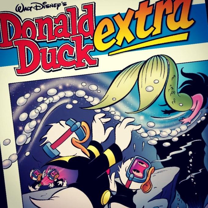 Ondertussen lees ik sinds eeuwen weer eens de Donald Duck, Ik heb via Tijdschrift.nl het megapakket voor slechts 2,50 per maand geregeld en daar zit ook de Donald Duck bij! Leuk hoor.