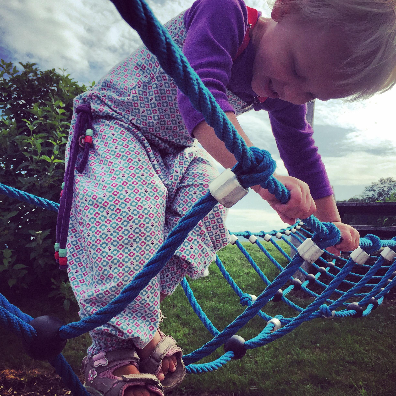 Kind kan zo lekker klimmen