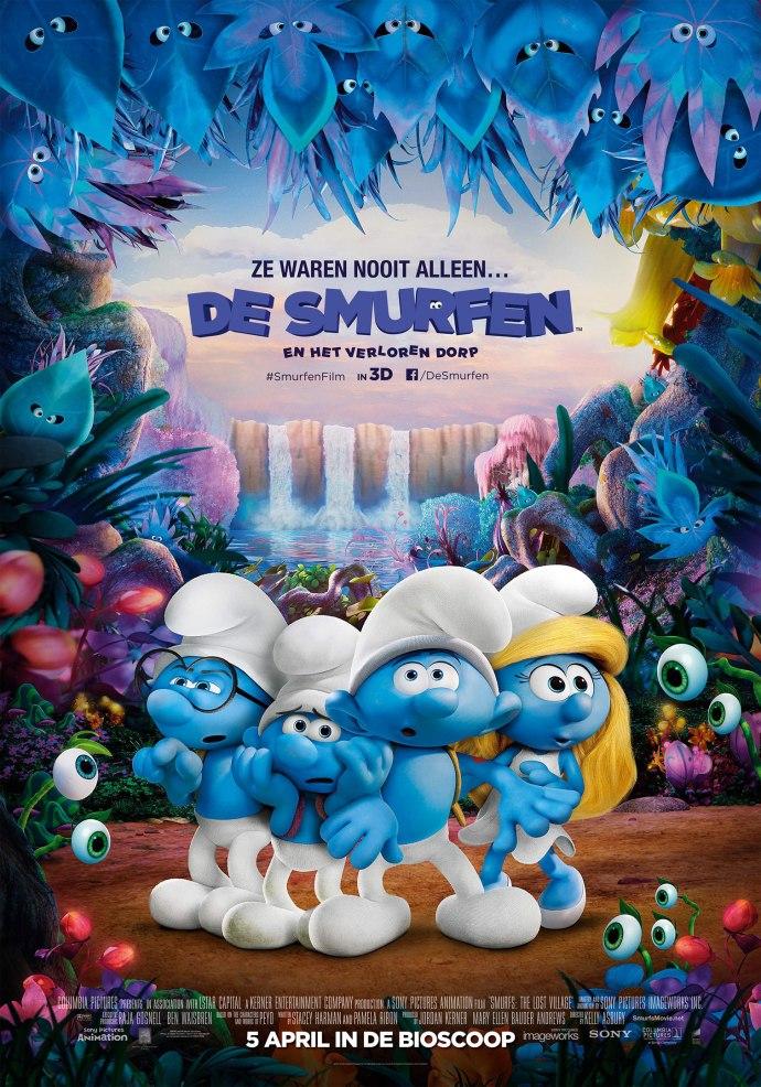I'm blue labadielabadaaaaa   De nieuwe Smurfenfilm is uit op DVD