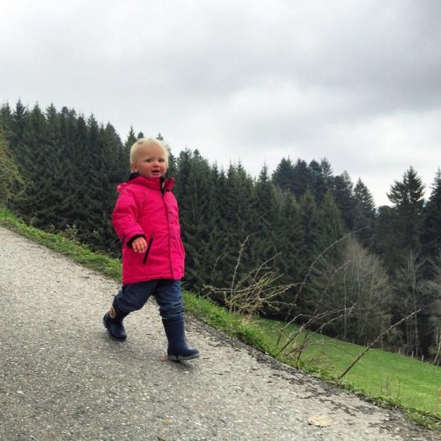 Zaterdag gingen we met de Pfänderberg op.