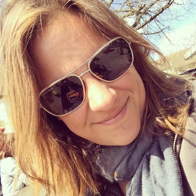 De zon was me te fel en ik kocht een nieuwe zonnebril