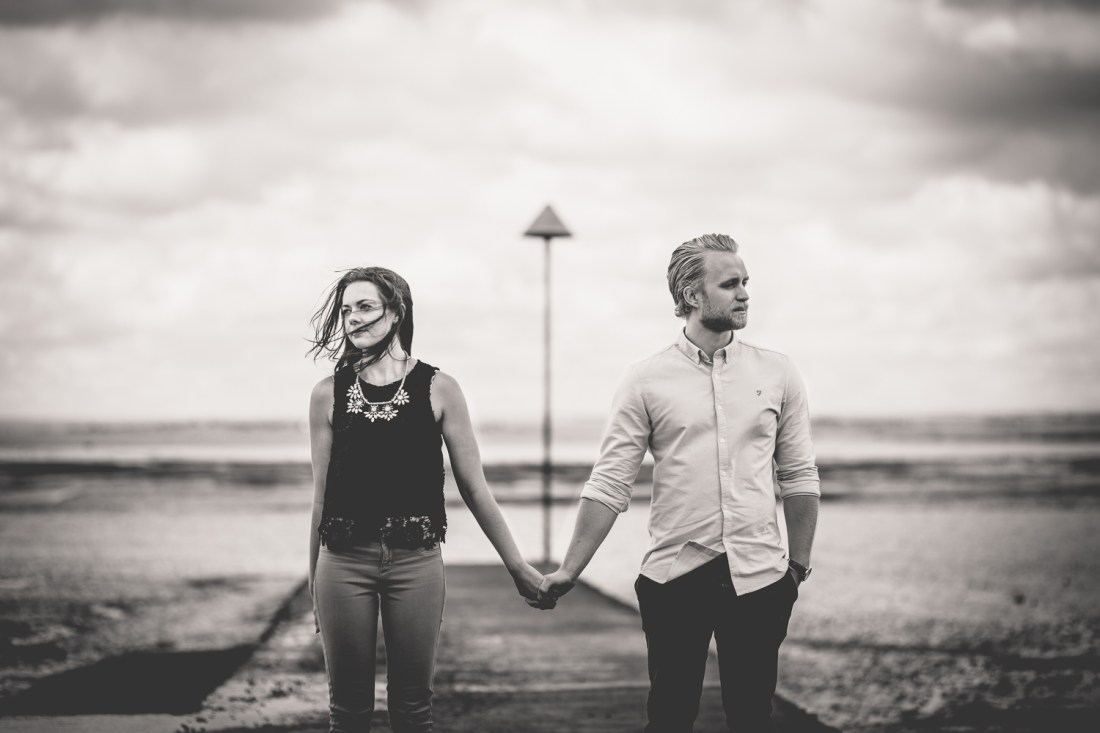 Leigh-on-sea Engagement Session Amber & Adam