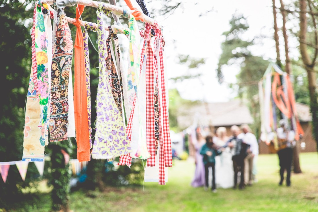 Festival Wedding at Jubilee House in Oxfordshire
