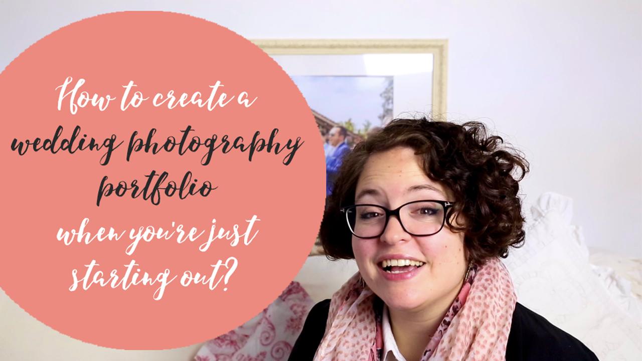 How to create a wedding photography portfolio