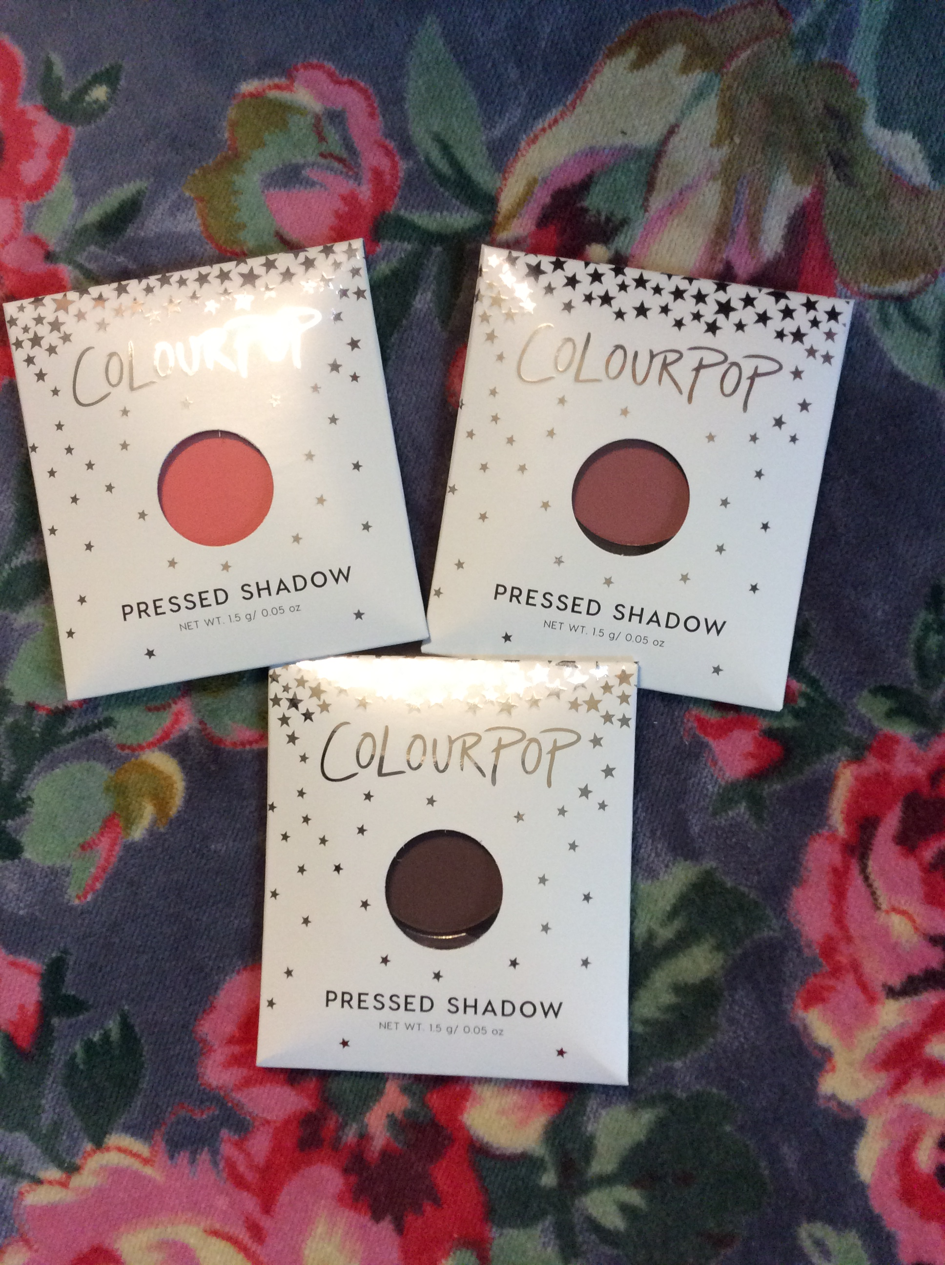 Colourpop Pressed Shadows and more