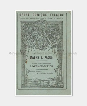 1888 MASKS & FACES Opera Comique 4471880 (1)