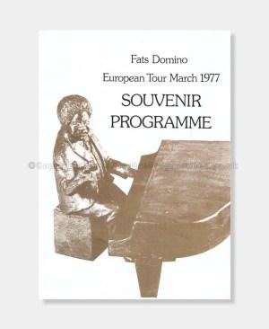 1977 Fats Domino European Tour