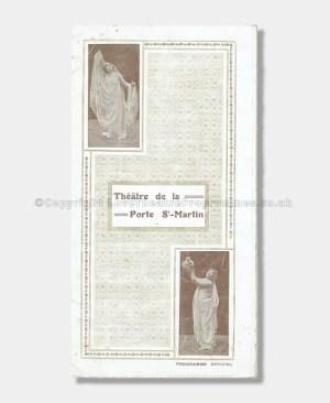 1908 Théâtre de la Porte Saint-Martin - L'Affaire des Poisons