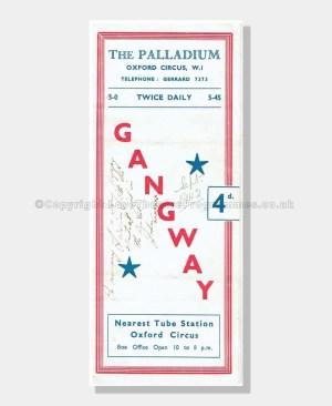 1942 GANGWAY Palladium