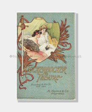 1909 THE DOLLAR PRINCESS Knickerbocker Theatre