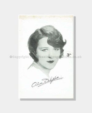 1929 HER PAST ALICE DELYSIA Prince of Wales Theatre