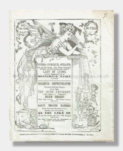 1875 MERRY WIVES OF WINDSOR Gaiety Theatre