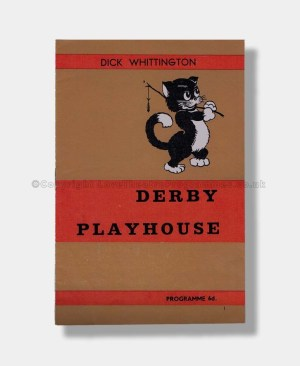 1964 DICK WHITTINGTON Derby Playhouse