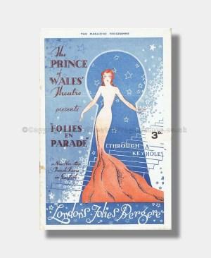 1935 FOLIES EN PARADE Prince of Wales
