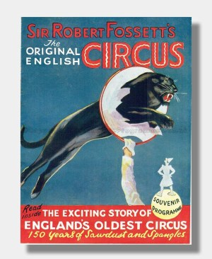 1956 SIR ROBERT FOSSETT English Circus