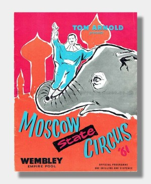 1961 MOSCOW STATE CIRCUS Wembley Empire Pool
