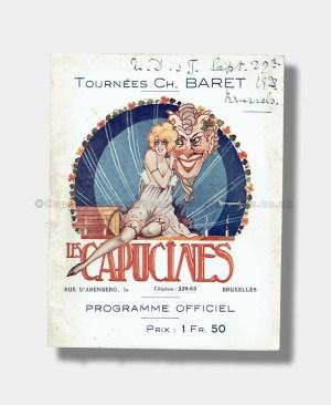 1923 Théâtre des Capucines DEDE