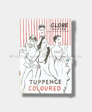 1947 Joyce Grenfell TUPPENCE COLOURED Globe Theatre