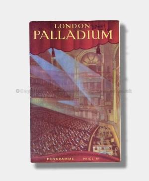 1949 DANNY KAYE London Palladium