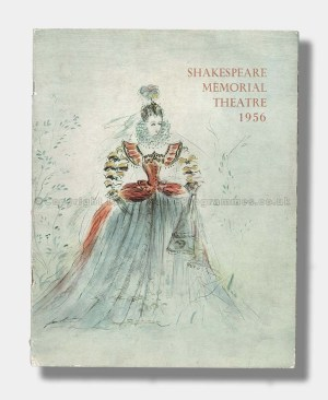 1956 SHAKESPEARE MEMORIAL THEATRE Souvenir