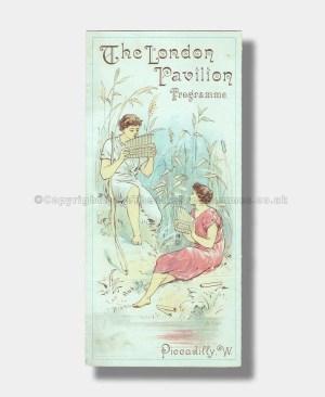 1893 VARIETY London Pavilion