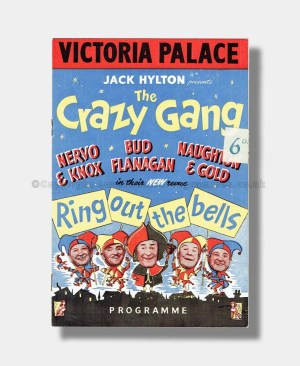 1952 The Crazy Gang RING OUT THE BELLS Victoria Palace