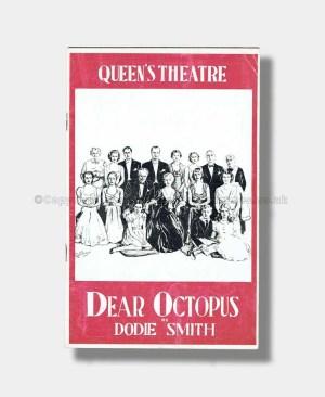 1938 DEAR OCTOPUS Queen's Theatre