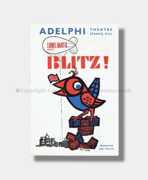 1962 THE BLITZ Adelphi Theatre