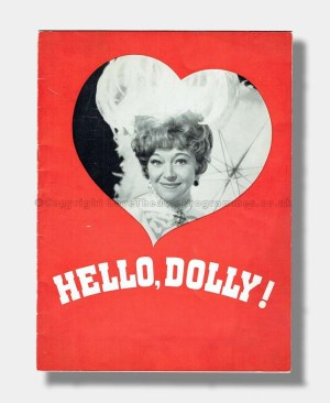 1966 HELLO DOLLY Theatre Royal Drury Lane DORA BRYAN