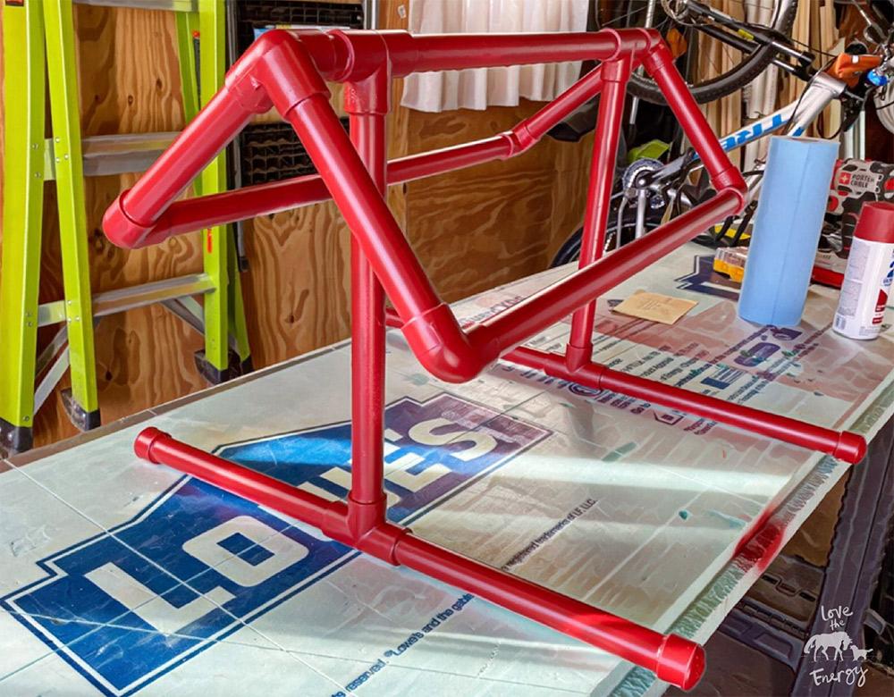 easy pvc saddle stand diy saddle rack