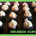 Drunken St. Patty's Day Cupcakes