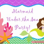 Lulu turned 2! Our Mermaid Party