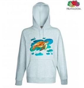 Turtle Design Hoodie