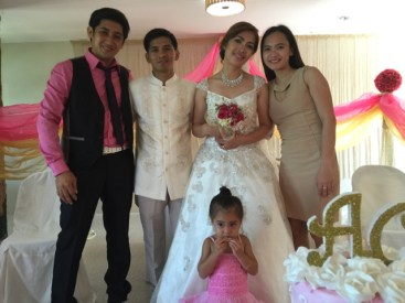Wedding of Nichol and Ronalyn - new family found