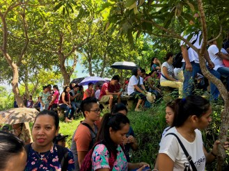 thousands attend Agtalin mass on the first Saturday of the month