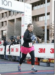 3M Half Marathon Finish