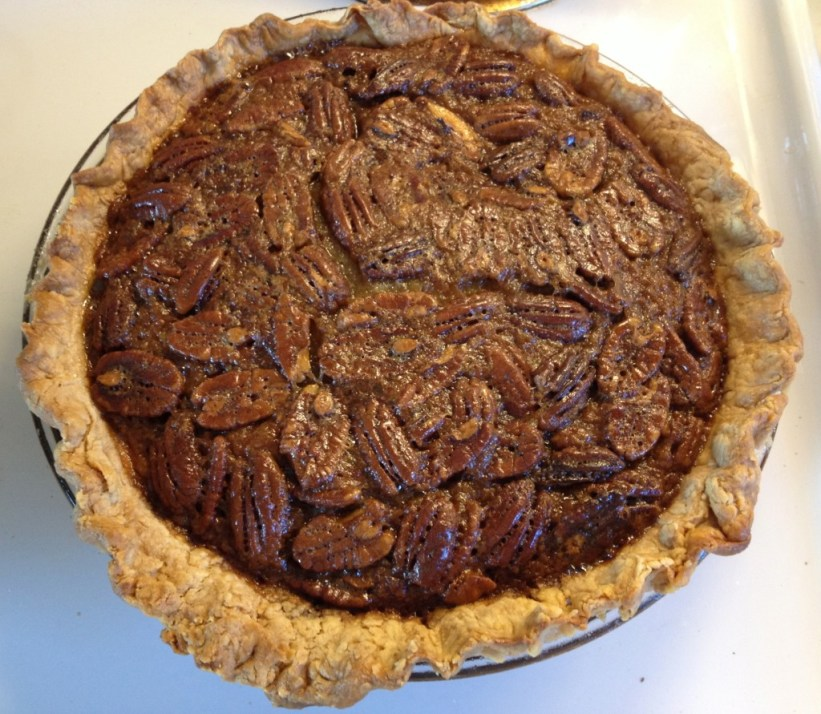 The best Southern pecan pie from Mary Frances.