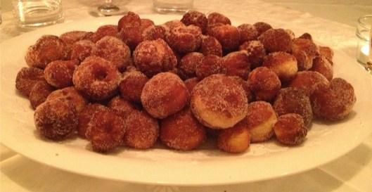 paczki - a Polish doughnut hole